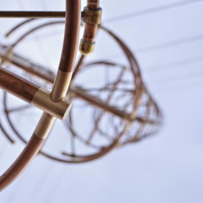 Foto antena dengan bukaan lebar