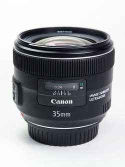 Canon 35mm f-2 IS USM
