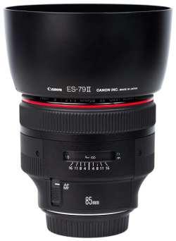 Canon_EF_85mm_f1.2L_II_USM_Hooded
