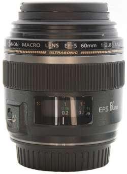 EF-S 60mm f-2.8 USM