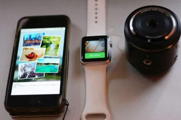 olympus air dan apple watch